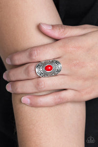 Paparazzi Accessories The ZEST Of The ZEST - Red Ring - Mel's Pretty It Up Boutique