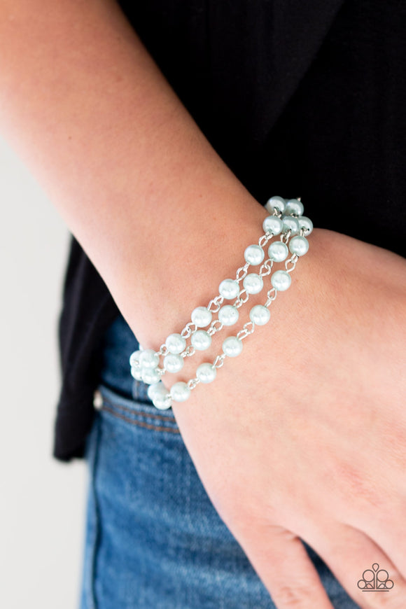 Paparazzi Accessories Stage Name - Blue Bracelet - Mel's Pretty It Up Boutique