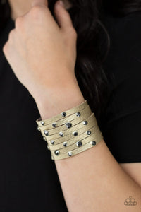 Paparazzi Accessories Go-Getter Glamorous - Multi Snap/Wrap Bracelet - Mel's Pretty It Up Boutique