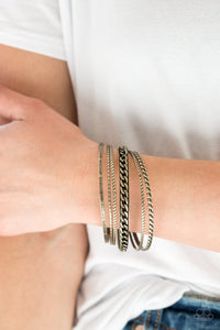 Paparazzi Accessories Mayan Mix - Brass Bracelet - Mel's Pretty It Up Boutique
