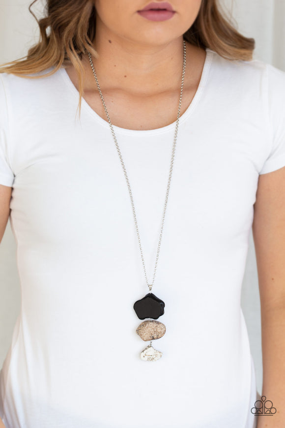 Paparazzi Accessories On The ROAM Again - Multi Necklace - Mel's Pretty It Up Boutique