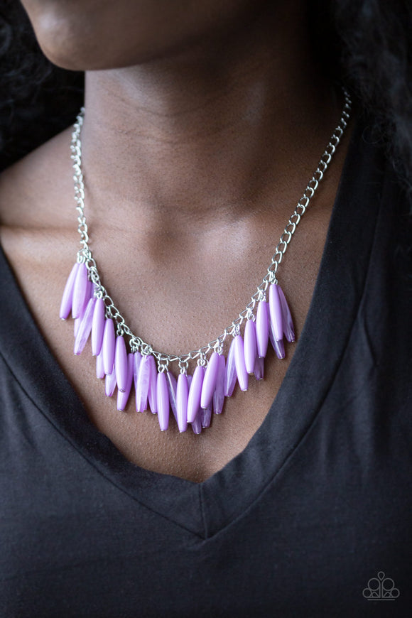 Paparazzi Accessories Full Of Flavor - Purple Necklace - Mel's Pretty It Up Boutique