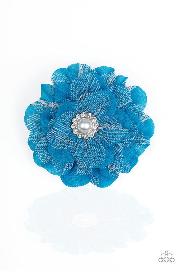 Paparazzi Accessories Bayou Blooms - Blue Hair Accessories - Mel's Pretty It Up Boutique