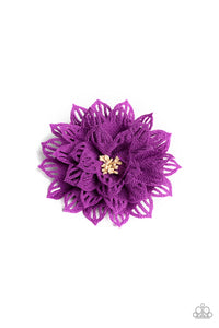 Paparazzi Accessories Yes I TROPICANA - Purple Hair Accessories - Mel's Pretty It Up Boutique