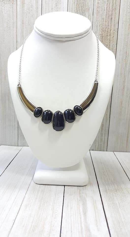 Paparazzi Accessories A BULL House - Black Necklace EXCLUSIVE - Mel's Pretty It Up Boutique