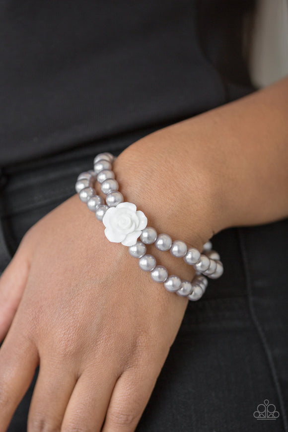 Paparazzi Accessories Posh and Posy - Silver Bracelet