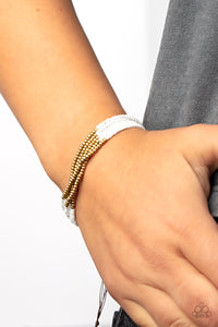 Paparazzi Accessories Sugary Sweet - Orange Bracelet - Mel's Pretty It Up Boutique