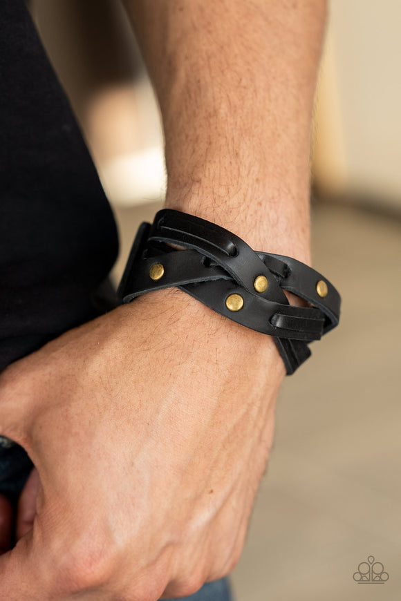 Paparazzi Accessories Rebel Radiance - Red Snap/Wrap Bracelet - Mel's Pretty It Up Boutique