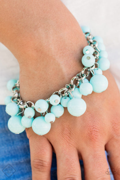 Paparazzi Accessories By A Show Of Hands - Blue Bracelet - Mel's Pretty It Up Boutique