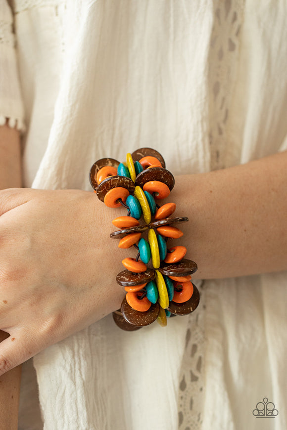 Paparazzi Accessories What are you waiting FAUX? - Silver Bracelet