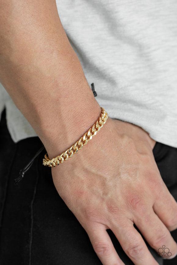 Paparazzi Accessories Hurrah - Gold Bracelet