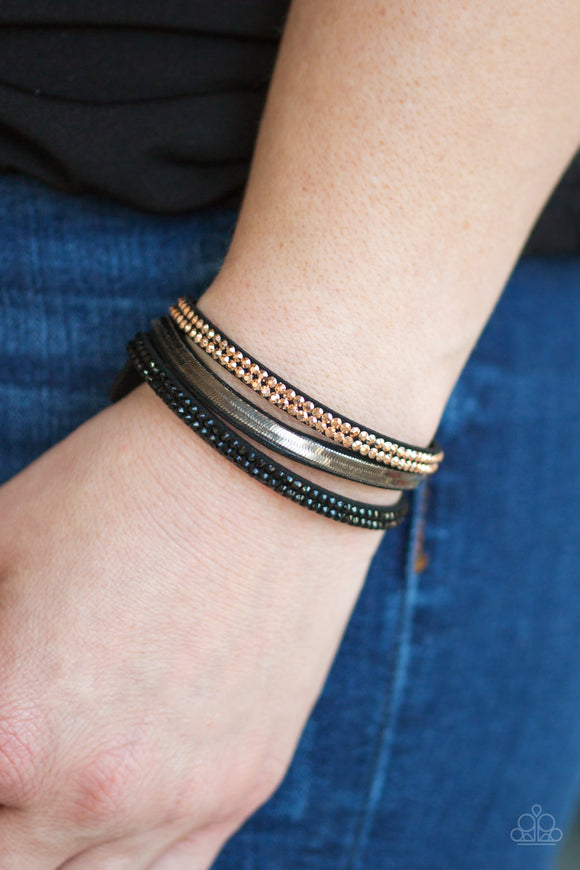 Paparazzi Accessories I Mean Business - Multi Snap/Wrap Bracelet