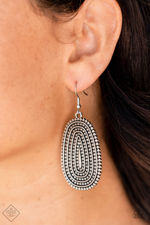 Paparazzi Accessories Glow It Up - Blue Earring - Mel's Pretty It Up Boutique