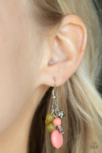 Paparazzi Accessories GEO Jam - Silver Earring - Mel's Pretty It Up Boutique