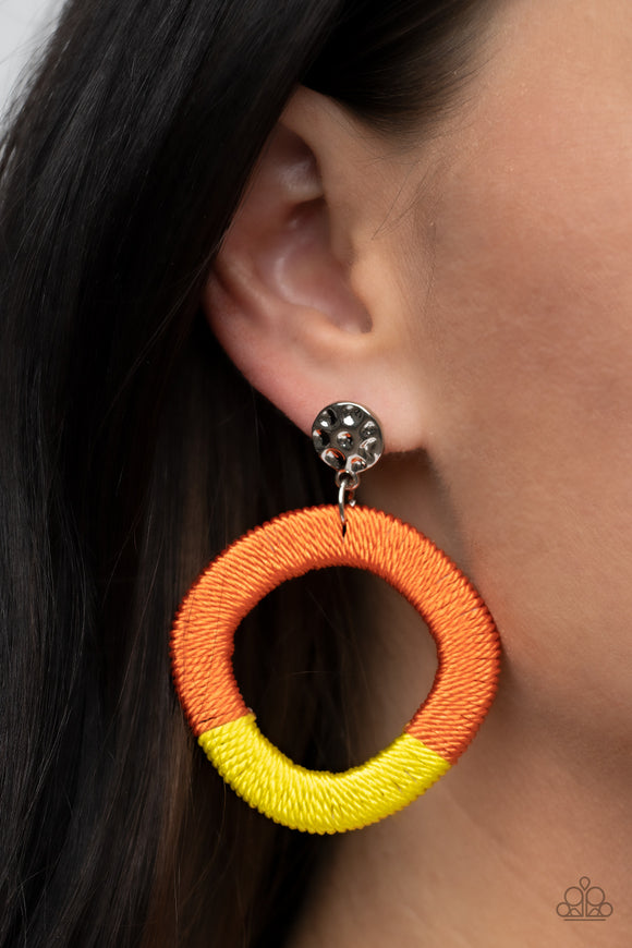 Paparazzi Accessories Opalescence Essence - White Earring - Mel's Pretty It Up Boutique