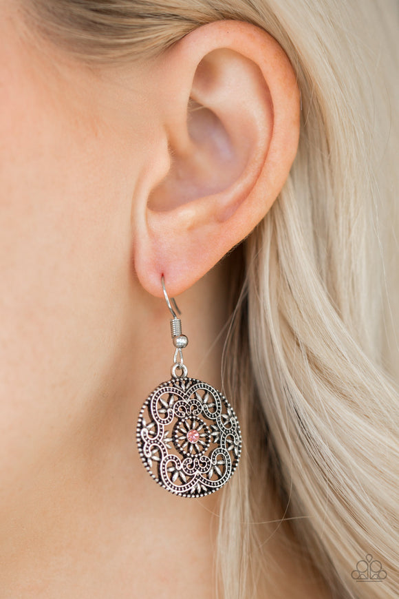 Paparazzi Accessories Artisan Abundance - Silver Earring - Mel's Pretty It Up Boutique