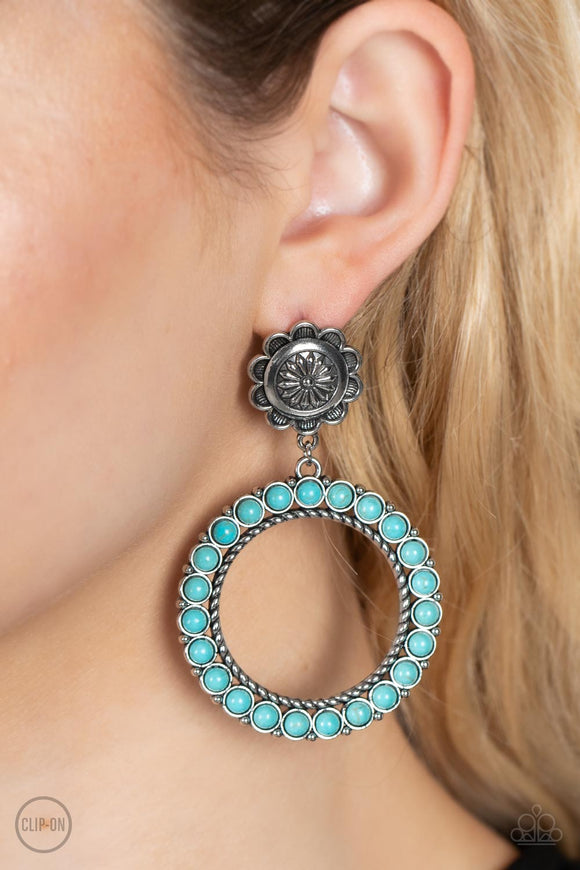 Paparazzi Accessories Macrame Jungle - Brown Earrings