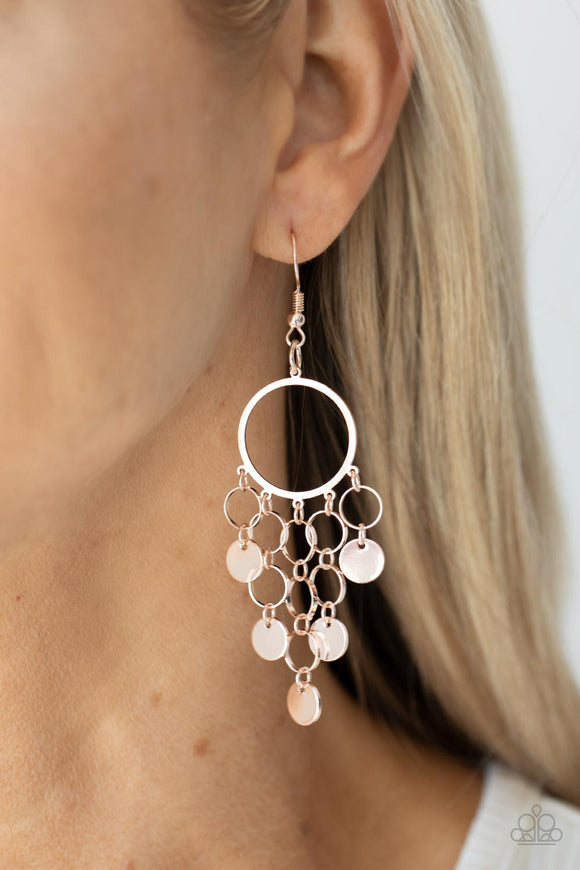 Paparazzi Accessories Free To Roam - Purple Earrings