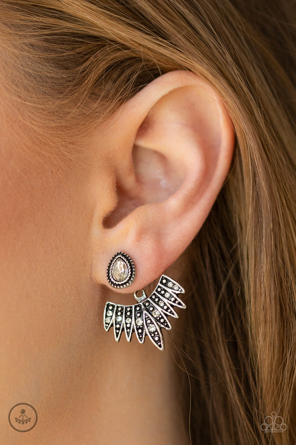 Paparazzi Accessories Terra Tears - Copper Earring - Mel's Pretty It Up Boutique