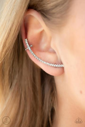 Paparazzi Accessories More To Love - Silver Earrings