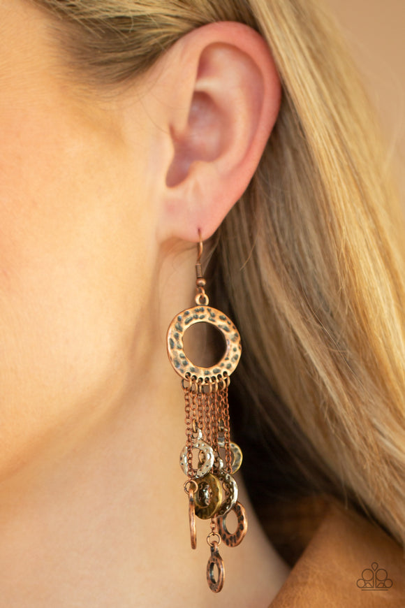Paparazzi Accessories Right Under Your NOISE - Multi Earrings