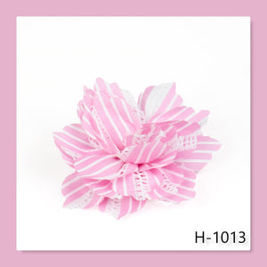 Paparazzi Accessories STRIPE For The Picking - Pink Hair Accessories