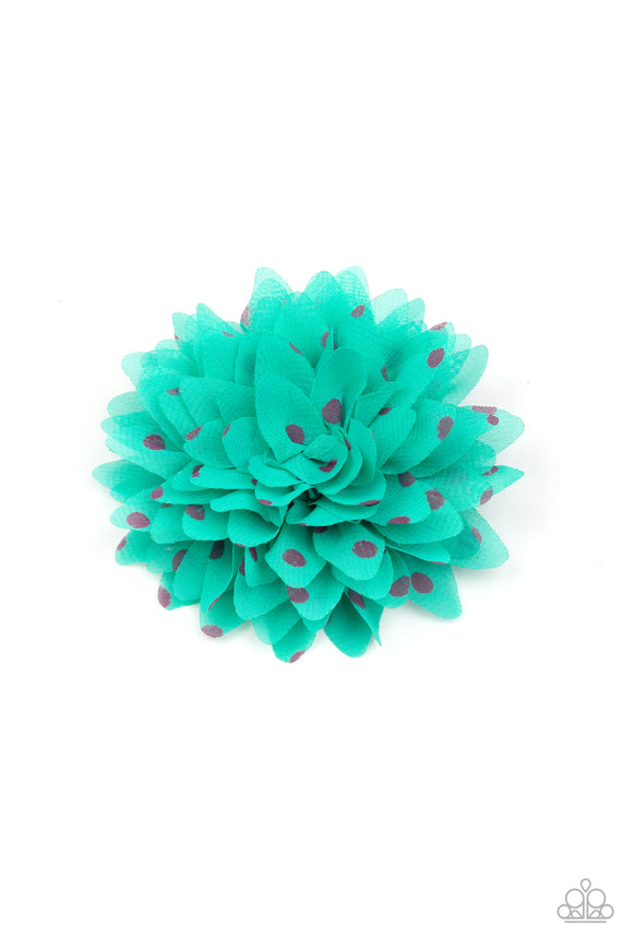 Paparazzi Accessories Bloom Boom - Green Hair Accessories - Mel's Pretty It Up Boutique