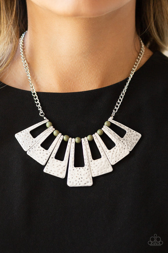 Paparazzi Accessories Timelessly Tasseled - Silver Necklace