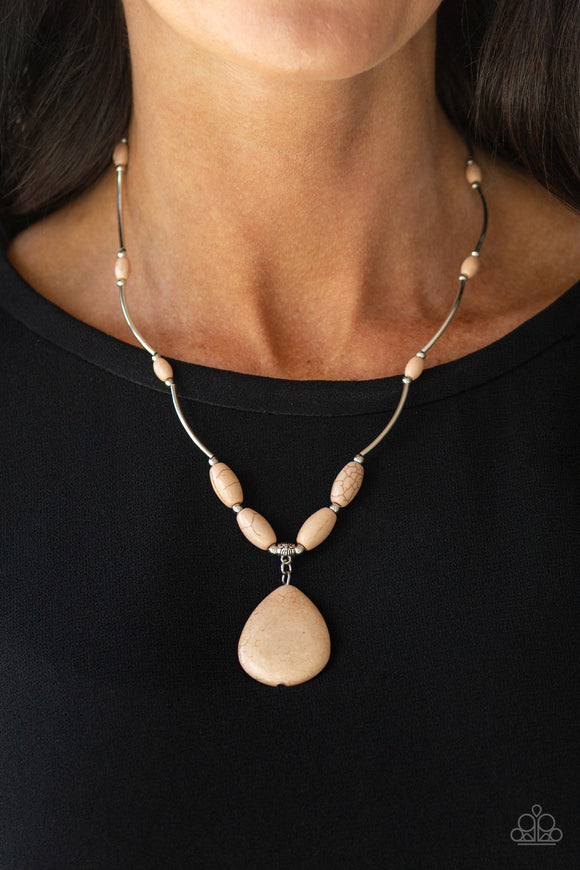 Paparazzi Accessories Explore the Elements - Brown Necklace