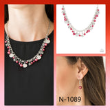 Paparazzi Accessories Coastal Cache - Red Necklace - Mel's Pretty It Up Boutique