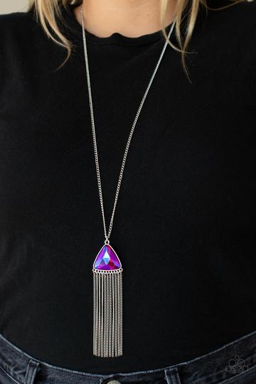 Paparazzi Accessories Trinket Trend - Silver Necklace - Mel's Pretty It Up Boutique