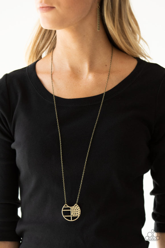 Paparazzi Accessories Royal Iridescence - Black Necklace
