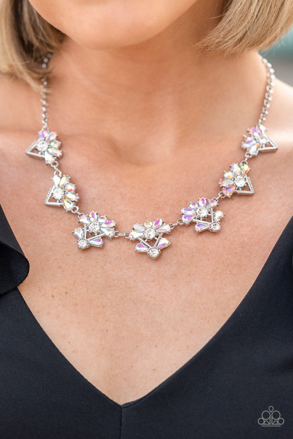 Paparazzi Accessories Break The Cycle - Silver Necklace