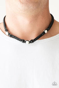 Paparazzi Accessories Expert Excursionist - Black Urban Necklace - Mel's Pretty It Up Boutique