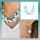 Paparazzi Accessories Walk This Broadway - Blue Necklace - Mel's Pretty It Up Boutique