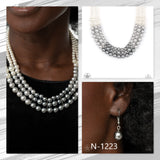 Paparazzi Accessories Lady In Waiting - Silver Necklace