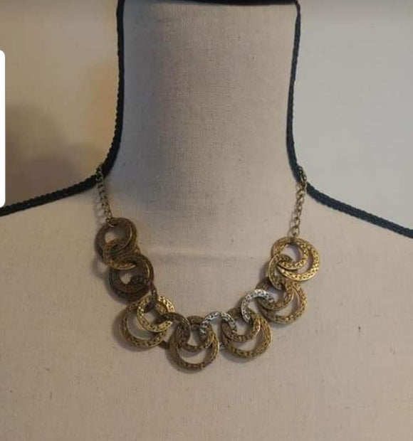 Paparazzi Accessories Treasure Tease - Brass Necklace - Mel's Pretty It Up Boutique
