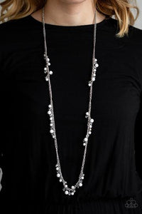 Paparazzi Accessories Miami Mojito - White Necklace - Mel's Pretty It Up Boutique