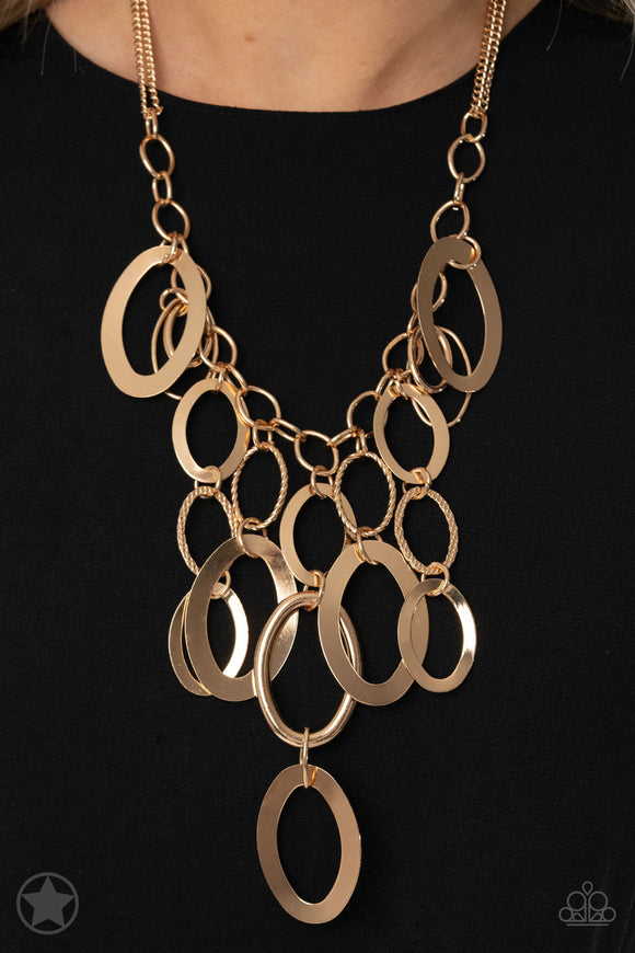 Paparazzi Accessories A Golden Spell - Gold Necklace