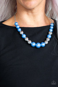 Paparazzi Accessories Take Note - Blue Necklace