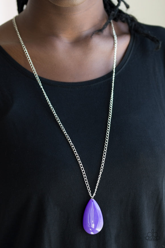 Paparazzi Accessories So Pop-YOU-lar - Purple Necklace