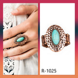 Paparazzi Accessories Ruler Radiance - Copper Ring - Mel's Pretty It Up Boutique
