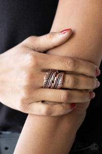Paparazzi Accessories Stacked Stunner - Silver Ring - Mel's Pretty It Up Boutique