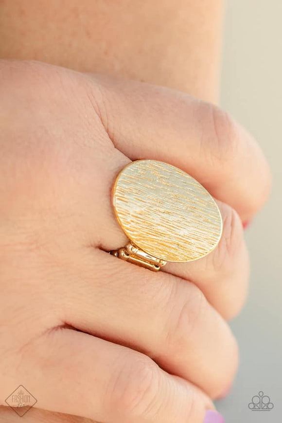 Paparazzi Accessories Blazing Brilliance - Gold Ring - Mel's Pretty It Up Boutique