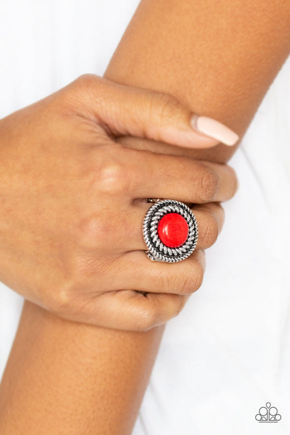Paparazzi Accessories Rare Minerals - Red Ring