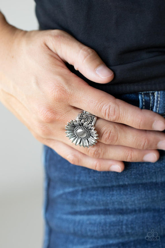 Paparazzi Accessories BAROQUE The Spell - Black Ring
