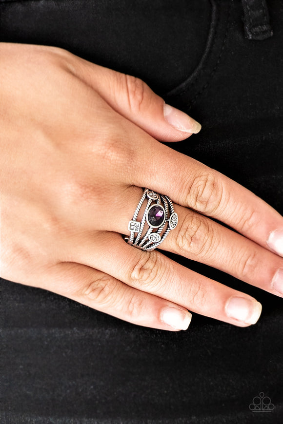 Paparazzi Accessories Cosmic Combo - Purple Ring