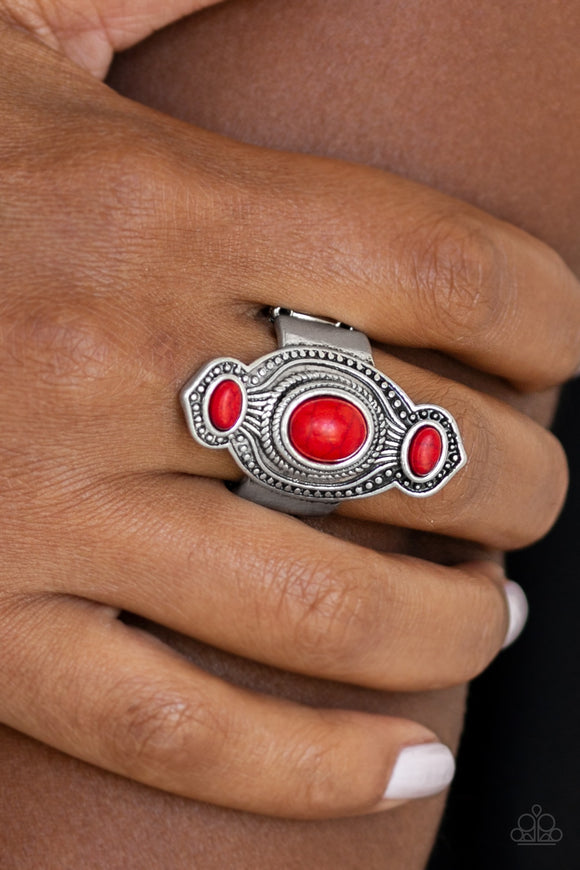 Paparazzi Accessories Dune Drifter - Red Ring