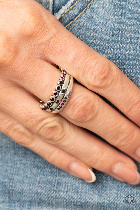 Paparazzi Accessories The Next Level - Purple Ring
