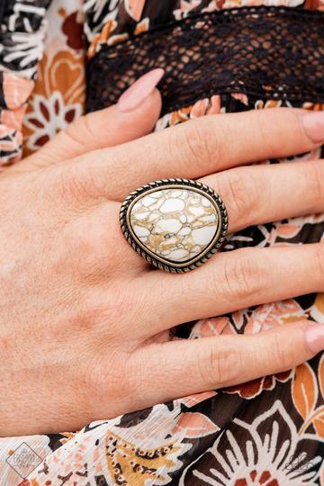 Paparazzi Accessories Collect Up Front - Blue Ring